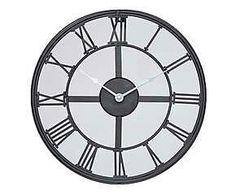 Relógio de parede industrial