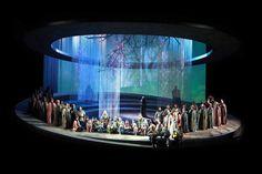 Teatro Carlo Felice, Genova's Otello. Production, sets and costume by Davide Livermore.