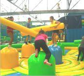 Inflatable World: footscray, oakleigh Brisbane Activities, Activities For Kids, Salisbury Homes, Stuff To Do, Cool Stuff, Park Homes, School Holidays, Cool Kids, New Zealand