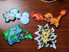 Pyssla Pokemon, Hama Beads Pokemon, Pokemon Craft, Diy Perler Beads, O Pokemon, Perler Bead Art, Pokemon Sprites, Hama Beads Patterns, Beading Patterns
