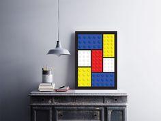 """Placa decorativa """"Lego""""  Temos quadros com moldura e vidro protetor e placas decorativas em MDF.  Visite nossa loja e conheça nossos diversos modelos.  Loja virtual: www.arteemposter.com.br  Facebook: fb.com/arteemposter  Instagram: instagram.com/rogergon1975  #placa #adesivo #poster #quadro #vidro #parede #moldura"""