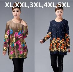 """HOT PRICES FROM ALI - Buy 2016 New Big Plus Size Winter Women Sweater Pullovers Print Casual Sweater woman tunic poncho vestidos from category """"Women's Clothing & Accessories"""" for only USD. Casual Sweaters, Pullover Sweaters, Sweaters For Women, Plus Clothing, Plus Size Winter, Plus Size Cardigans, Jackets For Women, Clothes For Women, Cotton Tunics"""