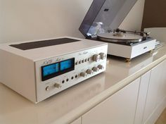 NAD 90, Kenwood 401, Thorens, the white class