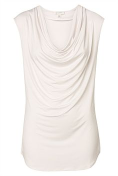Luxe Drape Top #witcherywishlist This top is perfect to go from office to out for date night and so flattering when you have things to hide