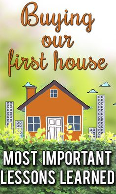 Great tips for first-time home-buyers!