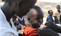 Volunteer networks tackle malaria and malnutrition in South Sudan // #hunger #food #ONELIFE #seehelptell