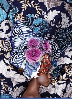 Beautiful Headwraps photo credit AD Magazine, Russia