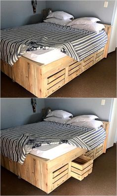 ana white build a brandy scrap wood storage bed with drawers king free and easy diy project and furniture plans wood projects pinterest wood
