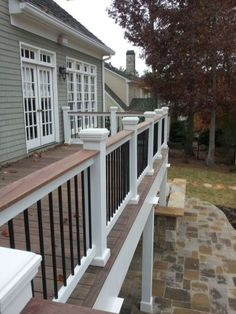 50 deck railing ideas for your home (7)