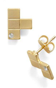 ShopStyle: ModClothBrick and Choose Earrings