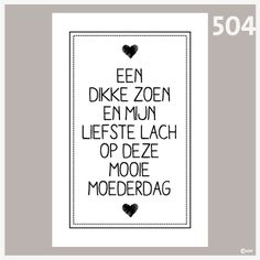 Tekstposter Moederdag 504 Diy For Kids, Crafts For Kids, Daddy Day, Little Presents, Mamas And Papas, Mother And Father, Love My Job, Holidays And Events, Party Gifts