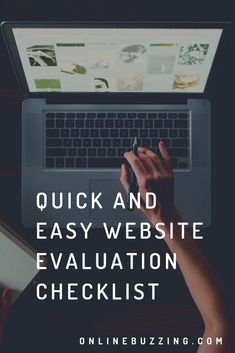 Guide to evaluating your website Simple Website, Creativity, How To Get, Digital, Easy