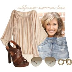"""Boho Summer Outfit"" by california-summer-love on Polyvore"