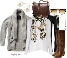 """""""Tribal Scarf"""" by taytay-268 on Polyvore"""