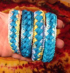 Fettuccia e filo multicolor