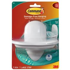 Command Soap Dish with Water-Resistant Strip, 1-Dish, 1-Strip >>> Check out this great product.