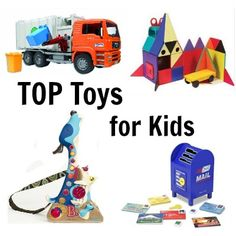 Top Toys for Kids - Looking for toys your kids will actually play with? They're all listed right here.