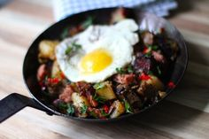 How to Make a Corned Beef Hash on St. Patrick's Day  Need a hearty Irish breakfast this morn?