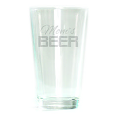 Pub Glass - 16oz - Mom's Beer