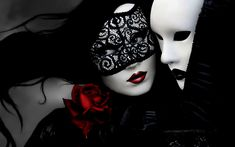 Gothic glamor mask art lace mood wallpaper | 1680x1050 | 30061 | WallpaperUP