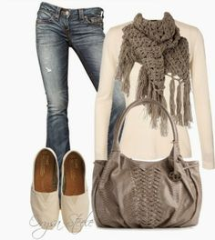 Fashion Is Your Inspiration: Casual Outfits | Cream and Cashmere