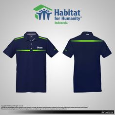 Baju Golf Custom corporate for HABITAT