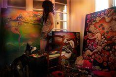Paintings by Dana Stefania Apostol :