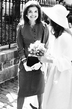 Jacqueline Kennedy: I just love this photo, she looks so happy.