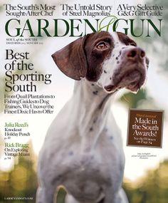 Garden and gun book on dogs