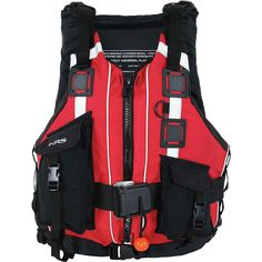 Type V PFD. 22 lbs of flotation, adjustability to fit chest sizes from 30 to 58 inches, and all the features you will ever need in a rescue vest. The NRS Rapid Rescuer can handle any situation. Kayaking Gear, Us Coast Guard, Fit 30, Glow Sticks, Stainless Steel Rings, North Face Backpack, Water Sports, Stuff To Buy, Life Jackets