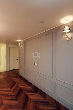 [프렌치 모던 느낌의 아파트 인테리어 37py]: 홍예디자인의  거실