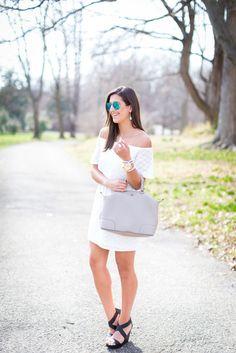 Little White Lace Dress   A Southern Drawl