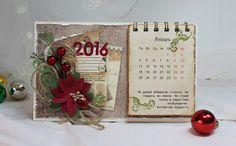 Flower Paradise - Цветочный рай: Новый календарь к Новому году