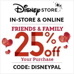 Don't miss out on these savings from @Disney Store!