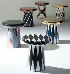 Mesa de cerâmica com design arrojado. Ttable é o nome da bonita peça uma criação do designer Jaime Hayon. @OlhardeMahel #JaimeHayon #designer #ttable #mesa #cerâmica #design #decoração #mesadecentro #OlhardeMahel #mesadecanto #table #designdemóveis #decor #fpolhares #instagram #pinterest #facebook #móvel #furniture http://ift.tt/2dW9TPY