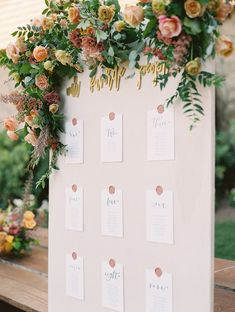 This Photographers California Chic Wedding Will Have You Craving All Things Autumn! Chic Wedding, Floral Wedding, Fall Wedding, Wedding Events, Wedding Flowers, Wedding Details, Wedding Seating Cards, Wedding Signage, Wedding Table Numbers