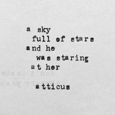 'Her' #atticuspoetry #atticus #poetry #poem #stars #her