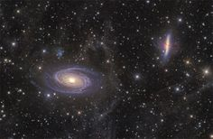 Astronomy Photographer of the Year 2013 Award Winners:  Highly Commended (Deep Space): M81 – 82 and Integrated Flux Nebula by Ivan Eder (Hungary)