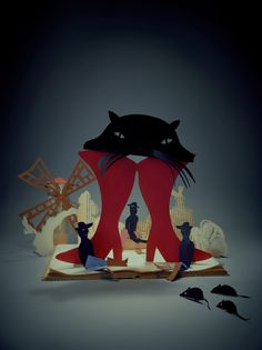 client: SYRENA theater (poster) // paper craft: Natalia Mleczak