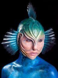 SFX makeup. Fantasy.