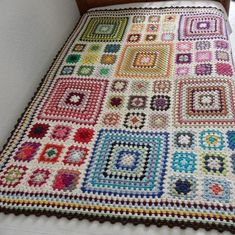 Бабушкин квадрат - Ярмарка Мастеров - ручная работа, handmade