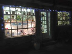 The shop front for christmas 2015 @Kristina's Thirsk