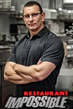 "Robert Irvine -- Famous Chef and Host of ""Restaurant Impossible"" on the Food Network"