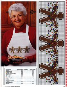 Gingerbread em Ponto Cruz | Ponto Cruz-Cross Stitch-Punto Cruz-十字绣-Punto Croce-Kreuzstitch-Point de Croix-вышивк