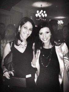 Amanda C. and Danielle Lam at the 2013 Holiday Party!