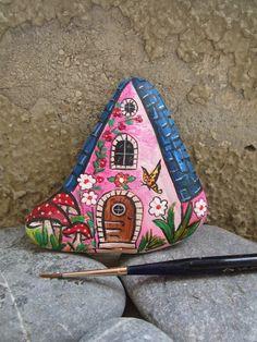 Bildergebnis für raggedy ann rock painting
