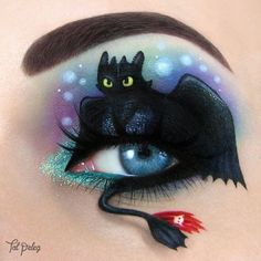 Eye Art Inspired By Your Favorite Movies, Books And Musicals