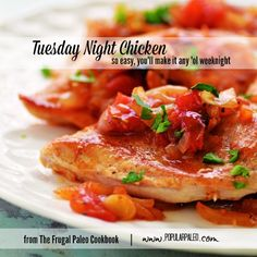 Simple but flavorful chicken recipe