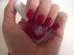 Maybelline Forever Strong Super Stay Gel Nail Color in Divine Wine