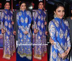 Soha Ali Khan In Manish Malhotra At J&K 70MM Event-1